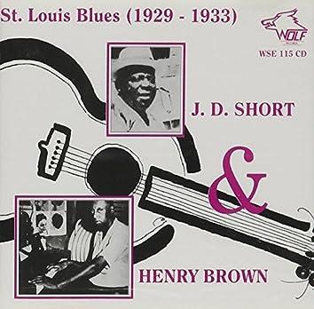 St. Louis Blues 1929 - 1933