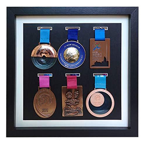 Caja expositora Insignias Caja exhibición medallas Marco de