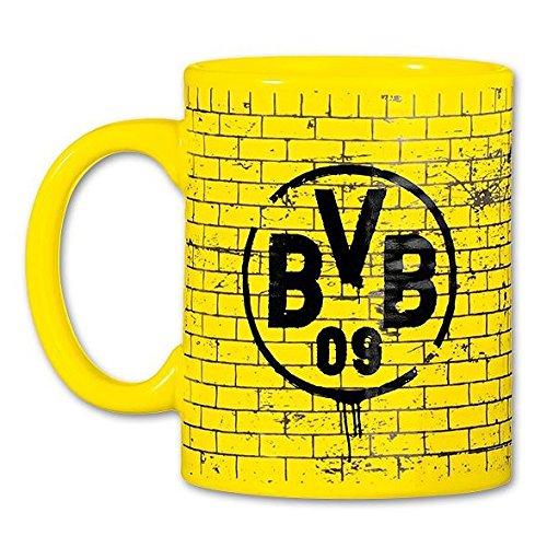 BVB BORUSSIA DORTMUND TASSE GELBE WAND