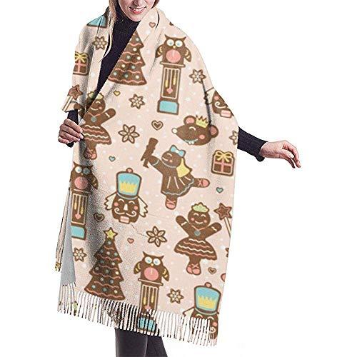 Regan Nehemiah peperkoek theater Co presenteert de notenkraker ballet op perzik sjaal wrap winter warme sjaal cape grote zachte gezellige kasjmier sjaal wrap