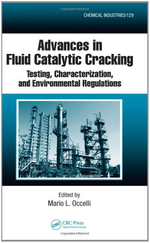 Advances in Fluid Catalytic Cracking: Testing, Characterization, and Environmental Regulations (Chemical Industries)