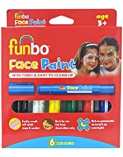 Face Paint Sticks 6g PK = 6 cols