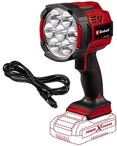 Einhell Akku-Lampe TE-CL 18/2500 LiAC-Solo Power X-Change (Li-Ion, 18 V, 2500 lm Lichtstrom durch 7 LEDs, 6500 K Lichttemperatur, Stativgewinde, ohne Akku und Ladegerät)