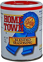 Hometown Number 1 Blended Seasoning for Beef, Poultry, Fish, Pork and Veggies – Gluten Free and No MSG – Michelin Chef Formula with Whole Spices for Flavorful Steaks, Chicken and Seafood (5 oz)