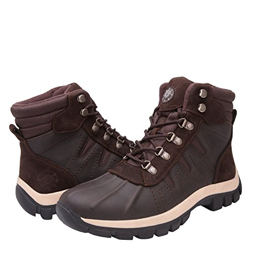GlobalWin - 16302 Snow Boots 10.5 M US BROWN