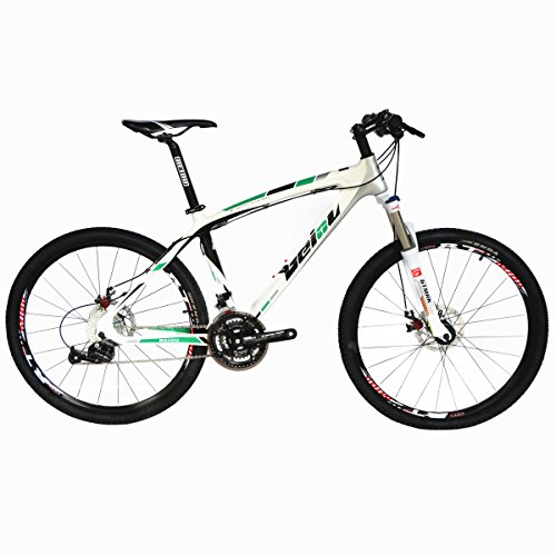 BEIOU Toray T700 Carbon Fiber Mountain Bike Complete Bicycle MTB 27 Speed 26-Inch Wheel Shimano 370 CB004