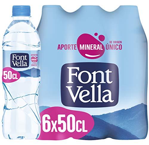 Font Vella Agua Mineral Natural, 6 x 50cl