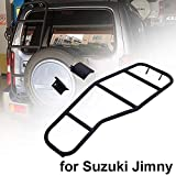 ZLMFBMStomsHan Rear Climbing Ladder for J-imny Jb43,Legierung Heckklappe Hintertür Leiter Kofferraum Modifikation Dekoration, Einfache Installation ohne Stanzen,Auto Styling Zubehör