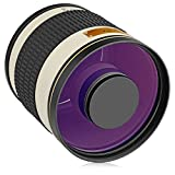 Opteka 500mm f/6.3 (with 2X- 1000mm) Telephoto Mirror Lens for Pentax K-70, K-50, K-3 II, KP, K-1, K-S2, K-S1, K-500, K-30, K5 IIs, K-7, K-5, K-2, K20D, K100D, K110D and K10D Digital SLR Cameras