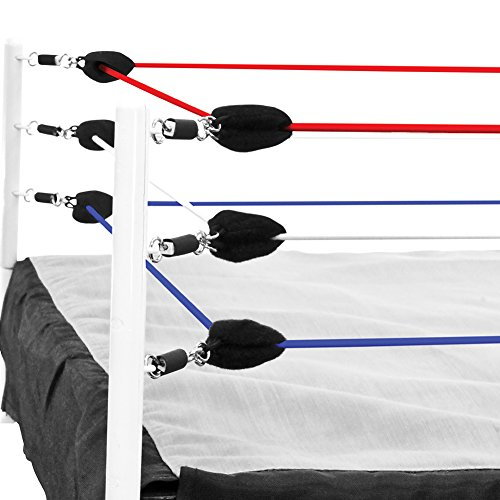 Red, White & Blue Ring Ropes for Wrestling Action Figure Ring by Figures Toy Company (Ropes Only)