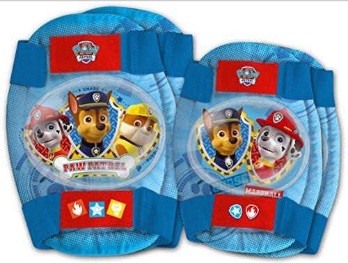 Disney Kit de protection Pat' Patrouille avec coudières et genouillères