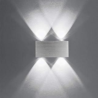 LIGHTESS Applique Murale LED Intérieure 4W MINI Lampe Originale Moderne Créatif Éclairage Design Lumiaire Décorative Alumi...