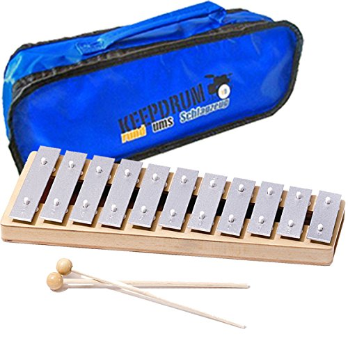 Sonor GP Kinder Xylophon Glockenspiel Sopran + keepdrum Tasche Bag