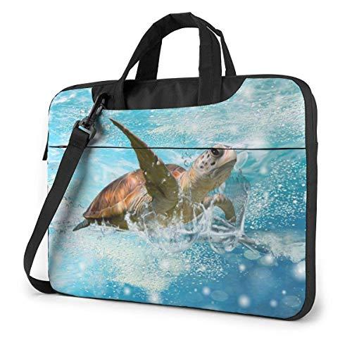 XCNGG Bolso de hombro Computer Bag Laptop Bag, Smart Frog Briefcase Protective Bag 14 inch