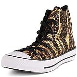 Converse Chuck Taylor All Star Femme Animal Print, Zapatillas para Mujer, Dorado, 38 EU