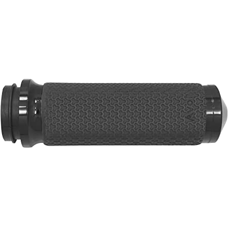 """Avon Memory Foam Grips 1.5/"""" Black Anodized Cable MF-63A-ANO 40-2713 0630-1893"""