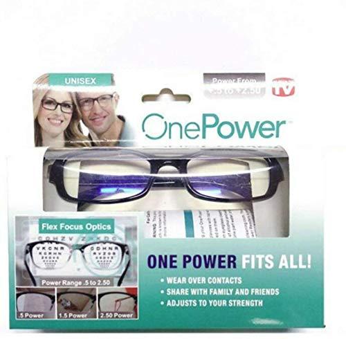 Dial Vision Lesebrille, verstellbar, flexibel, klarer Fokus, automatische Anpassung