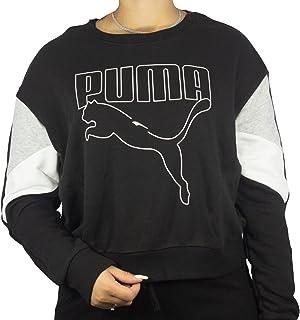 PUMA womens Rebel Crew TR T-Shirt