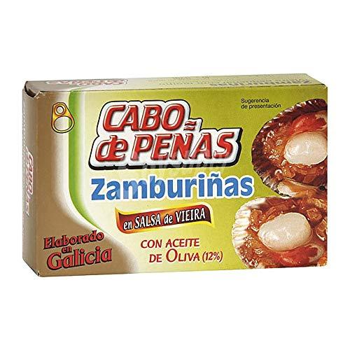 Kammmuscheln in galizischer Sauce - Zamburiñas en Salsa de Vieira