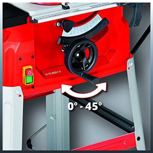 Einhell TC-TS 2025 U 1800 W (250 x 30 x 2.4) mm Table Saw with 5000 rpm Underframe