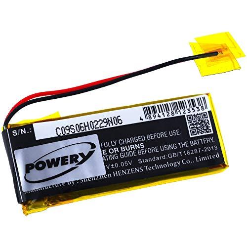 Powery Batería para Auriculares Cardo Scala Rider Q3