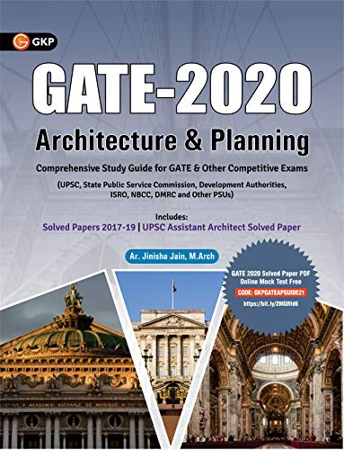 GATE Architecture & Planning Guide By y Ar. Jinisha Jain