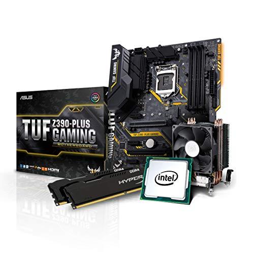 Kiebel Aufrüst Bundle, Intel Core i9 9900K 8x3.6 GHz, 16GB DDR4 3000, Intel HD 630 Grafik, Asus TUF Z390 Plus Gaming, Aufrüst Set, komplett vormontiert und getestet [184576]