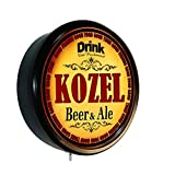 Goldenoldiesclocks KOZEL Beer and Ale Cerveza Lighted Wall Sign
