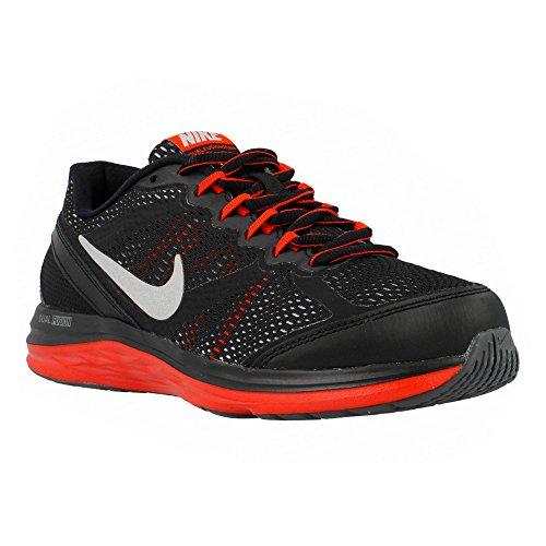 Nike - Dual Fusion Run 3 - Color: Negro-Rojo - Size: 38.5