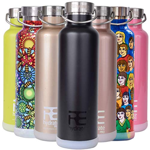 Rehydrate Pro (Black 25oz Double-Insulated...
