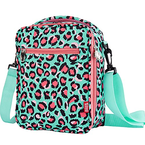 Insulated Lunch Box for Kids Teen Girls Boys, Cute Lunch Tote Bag Meal Bags for Kids for School, Leopard Grain