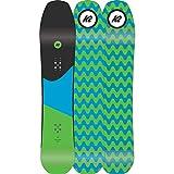 K2 Tavola da Snowboard 2018 Party Platter - 150Cm Nero-Blu-Verde (Default, Nero)