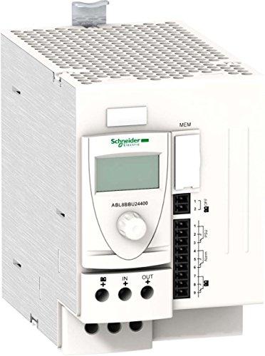 Schneider Electric ABL8BBU24400 Módulo de Control de Batería, 24-28,8 V CC, 24 V, 40 A, para SMPS Regulado