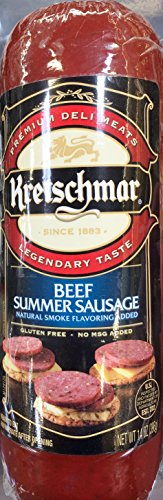 14oz Kretschmar Beef Summer Sausage (Pack of 1)