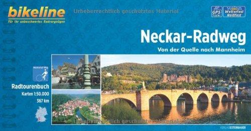 Bikeline Neckar-Radweg: Von der Quelle nach Mannheim. Radtourenbuch, 367 km, 1 : 50 000, wetterfest/reißfest, GPS-Tracks-Download