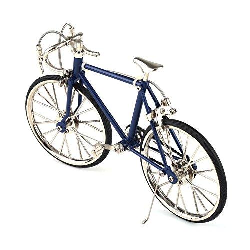 Miniatur- Fahrradmodell Fahrrad Metal \'Racing Bike, Schwarz, 19cm