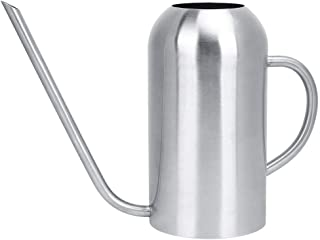 1.5L Watering Pot, Stainless Steel Watering Can Succulents Plants Long Spout Kettle Garden Accessories for Indoor, Outdoor...