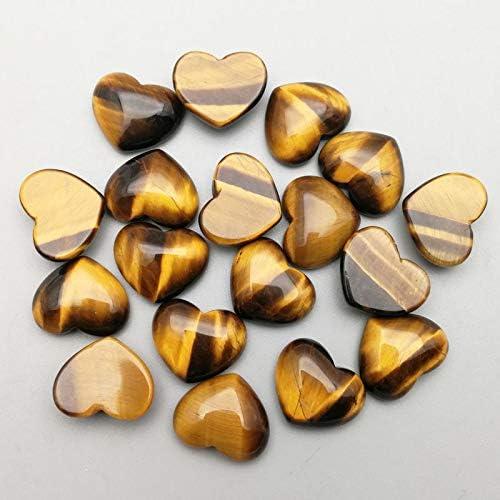 BD-17318 DIY Beads Natural Tiger shopping Cheap mail order sales CA Heart Eye Stone Charms