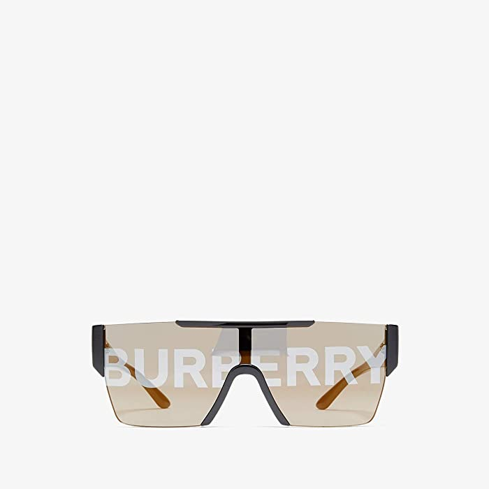 Burberry  0BE4291 (Black/Grey/Silver Gold) Fashion Sunglasses