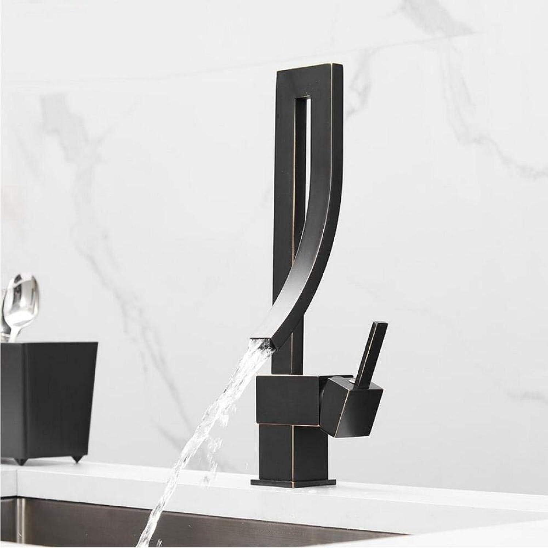 Messing Wasserfall Küchenarmaturen 360-Grad-Drehung torneira cozinha Mischer Kalten und Heien Becken Wasserhahn