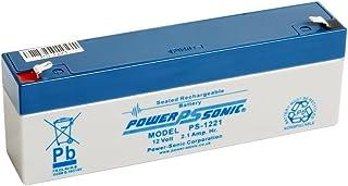Power Sonic PS1221 12 V 2.1 Ah AGM batería – Apto para Respuesta Alarma, Alarma