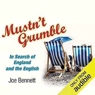 Mustn't Grumble audiobook cover art