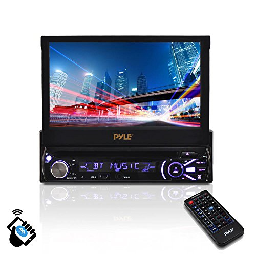 Pyle PLTS78DUB.0 Single DIN Head Unit In-Dash Car Stereo