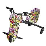 Drifter Derrapador eléctrico Moto Triciclo 20km de autonomía Triciclo ELECTRICO Kart Electrico Deriva Coches Eléctricos Adecuado para Niños Mayores De 6 Años