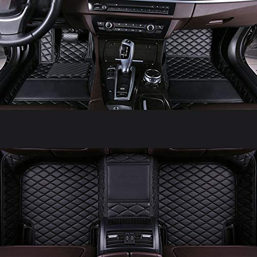 MDJFB Para Alfombrilla de Coche para Mercedes w245 w212 w169 ml w163 w246 ml w164 cla gla Vito w639 glk SLK Accesorios alfombras alfombras,Color 4