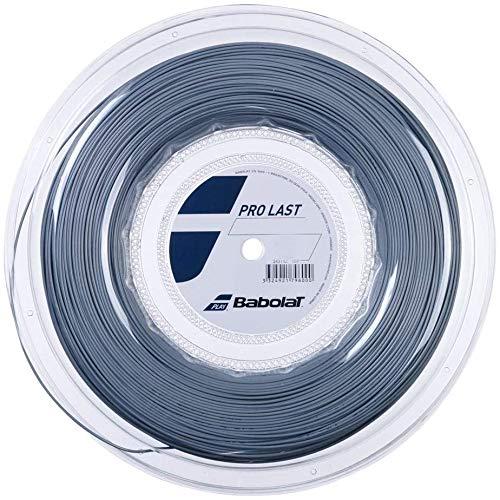 Babolat Pro Last - Cuerda para raqueta de tenis (200 m, 1,30 mm), color gris