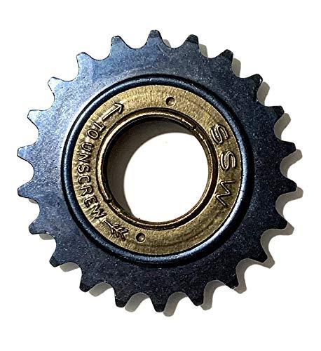 eRadius, Ruota Libera Libera a 22 Denti per Passo Catena (1/2' o 12,7 mm), Larghezza 3,17 mm (1/8'), Denti 22