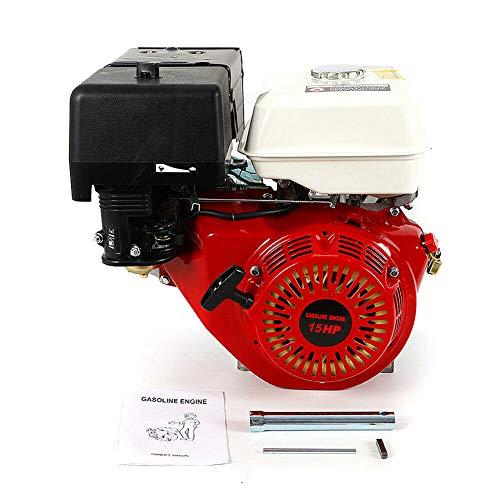15PS 4-Takt Motor OHV Benzinmotor Kartenmotor Standmotor Einzylinder Industriemotor 9KW 420CC Luftkühlung Viertakterssatzmotoren gokart mit motor mit Ölalarm.