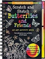 Scratch & Sketch Butterflies & Friends: Trace Along