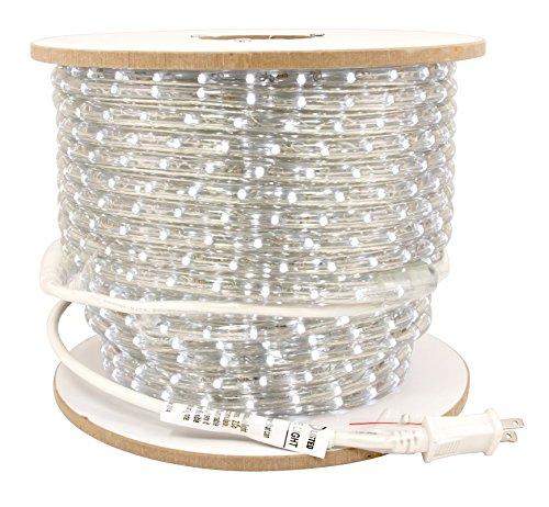 American Lighting LED Flexbrite 3/8-Inch Rope Light Reel, 150-Feet, 5000K Bright White